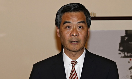 Hong Kong chief executive Leung Chun-ying is facing claims of payments from an Australian company